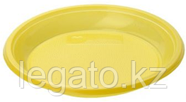 Тарелка 165 б/с желтая (ИнтроПластик 2400)