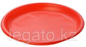 Тарелка 165 б/с красная (ИнтроПластик 2400)