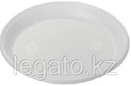 Тарелка 205 б/с белая НОВАЯ (ИнтроПластик 2000) 100/уп