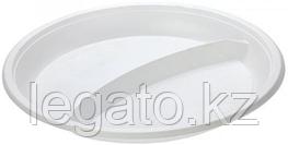 Тарелка 2-х секц. d 210мм 100шт/упак1200шт. кор Диапазон