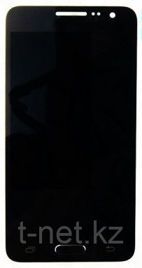 Дисплей Samsung Galaxy A3 SM-A300F, с сенсором, цвет черный