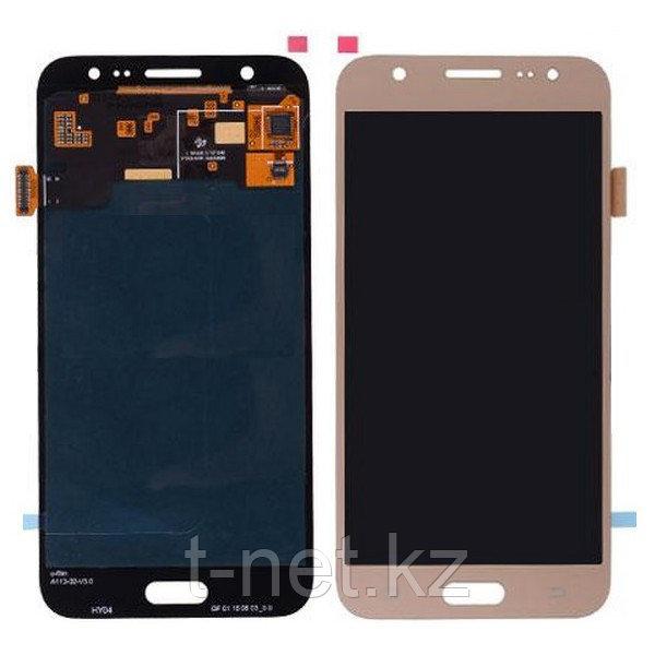 Дисплей Samsung Galaxy J5 Duos SM-J500H, с сенсором, цвет золотой