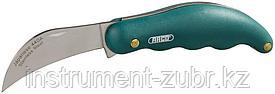 Нож садовода RACO складной, эргономичная рукоятка, нержавеющее лезвие, 175мм