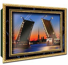 """Объемный постер """"Дворцовый мост"""""""