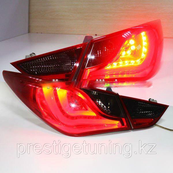 Задние фары HYUNDAI SONATA 8 LED Tail lamp 2011 BMW Type