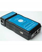 Сетевой кабельный тестер витой пары M726AT (LAN RJ-45 + RJ-11 + USB), фото 1