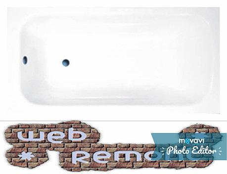 Акриловая ванна Banoperito Delia 170*70  (Ванна + ножки), фото 2