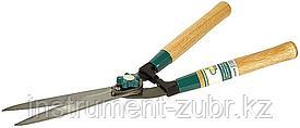 Кусторез RACO с волнообразными лезвиями и деревянными ручками, 510мм