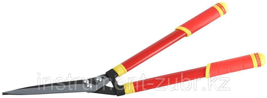 Кусторез, стальные телескопические ручки, профильные лезвия с тефлоновым покрытием, 665-825мм, фото 2