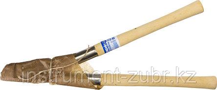Сучкорез с деревянными рукоятками, с шестерённой передачей, плоскостной, СИБИН, фото 2