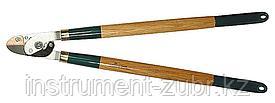 262 контактный двурычажный силовой сучкорез с деревянными рукоятками, RACO