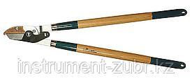 272 контактный двурычажный сучкорез с деревянными рукоятками, RACO