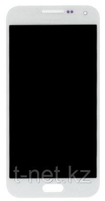 Дисплей Samsung Galaxy E5 Duos SM-E500F, с сенсором, цвет белый, качество OLED