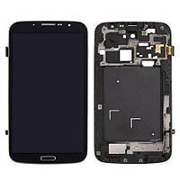 Дисплей Samsung Galaxy Mega 6.3 GT-i9200, с сенсором, с передней панелью, цвет черный