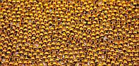 Бусины (золотистые), d-4 мм. Creativ 2064
