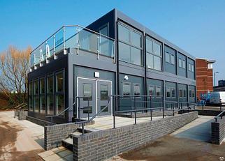 2-ух и более этажное модульное здание