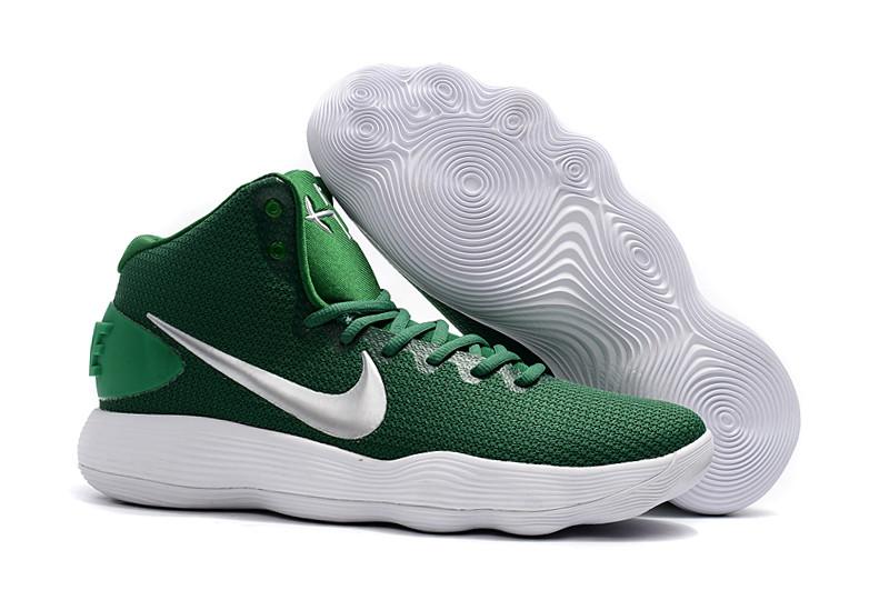 """Кроссовки Nike React Hyperdunk 2017 High """"Green/White"""", 40 размер"""