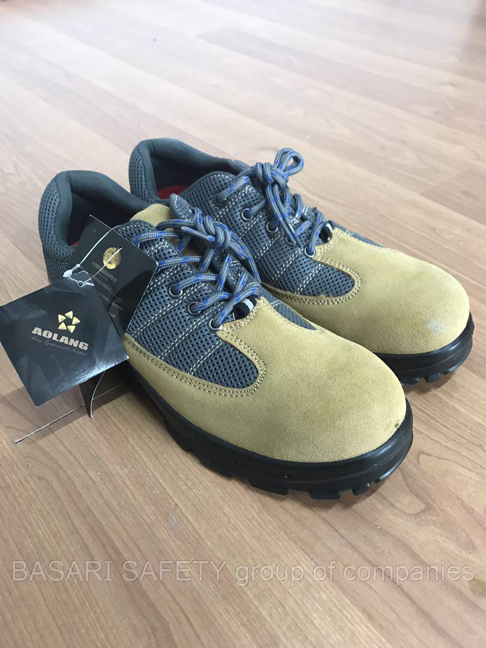 Рабочая обувь, Полуботинки ASPO.коричневый