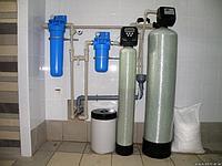 Фильтры умягчения воды колонно...