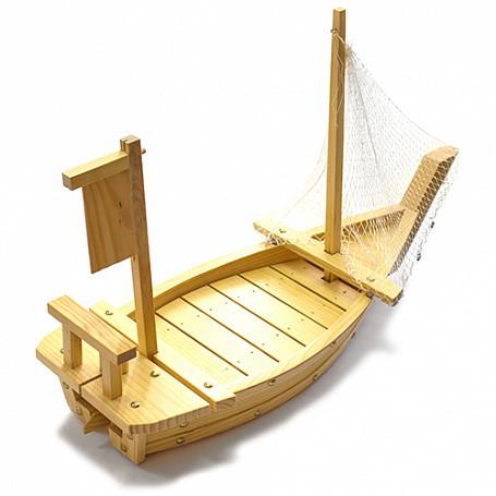 """Блюдо """"Корабль"""" L=60см дерево арт. 03021512"""
