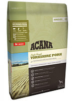 Сухой корм для собак всех пород c чувствительным пищеварением Acana Singles Yorkshire Pork со свининой