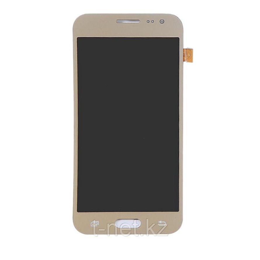 Дисплей Samsung Galaxy J2 Duos J200, с сенсором, цвет золотой