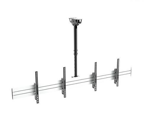 Крепление для видеопанелей потолочное  Brateck LVC02-246TS-01