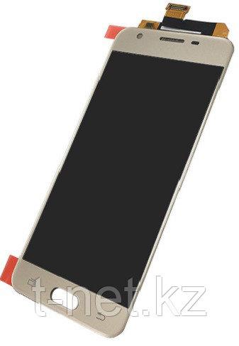 Дисплей Samsung Galaxy J5 Prime Duos G570F, с сенсором, цвет золотой