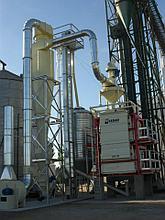 Зерноочистительный комплекс  производительность 150 т/ч LZD