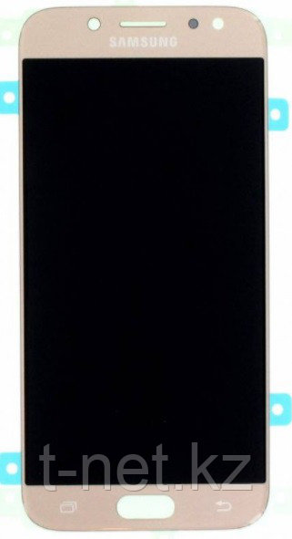Дисплей Samsung Galaxy J5 J530 (2017), с сенсором, цвет золотой, качество OLED