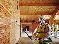 Огнезащитная обработка деревянных конструкций с протоколом лабораторных испытаний
