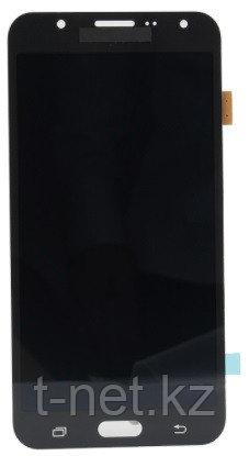 Дисплей Samsung Galaxy J7 Duos SM-J700H, с сенсором, цвет черный, качество OLED