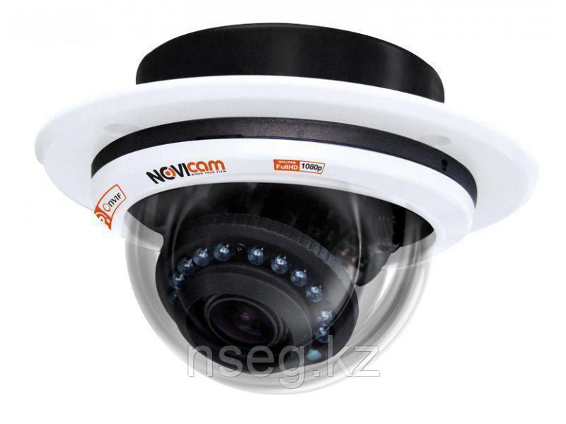 NOVICAM IP N27 2.1Мп купольная IP камера с ИК-подсветкой до 20м.