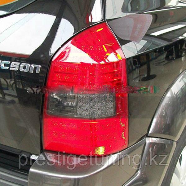 Задние фары Tucson LED Tail Lamp 2004 -2008 year Red Black Color V2