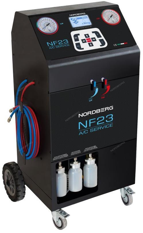 УСТАНОВКА автомат для заправки авто кондиционеров с принтером NORDBERG NF23