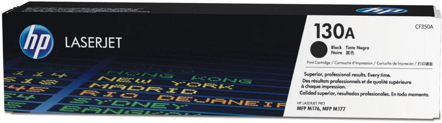 Картридж лазерный Черный НР (№130A) для Color LaserJet Pro MFP M176n / M177fw, фото 2