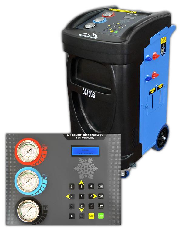 Установка для обслуживания кондиционеров полуавтоматическа Trommelberg OC100