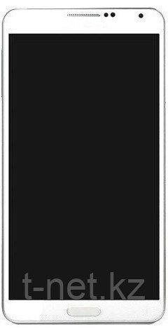Дисплей Samsung Galaxy Note 3 SM-N900/N9000/N9005, с передней панелью и с сенсором, цвет белый