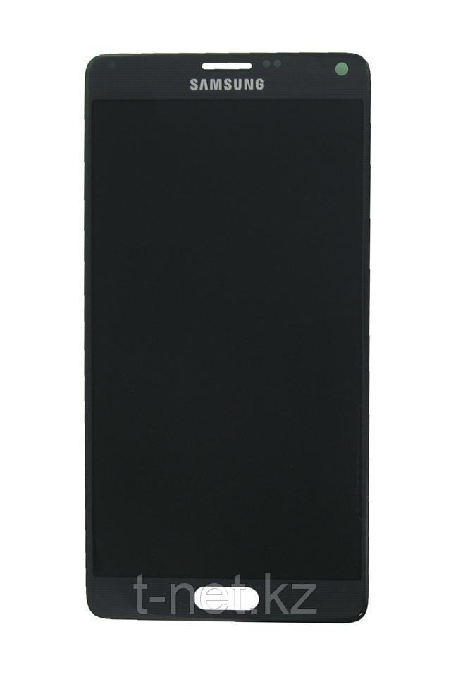 Дисплей Samsung Galaxy Note 4 SM-N910C, с сенсором, цвет черный