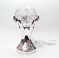 Диско лампа «Рука», серебристая, 20 см