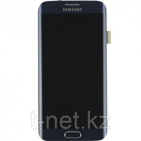 Дисплей Samsung Galaxy S7 Edge SM-G935FD Dual SIM, с сенсором, цвет черный, качество Оригинал