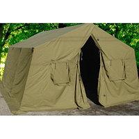Палатки брезентовые 3,07х3,07х2,75 с кольями