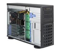 Сервер Tower 4U, 1xXeon E3-1200 v5/v6, 4xDDR4 UDIMM 2400, 8x3.5HDD, RAID 0,1,10,5, 2xGLAN, 2x800W