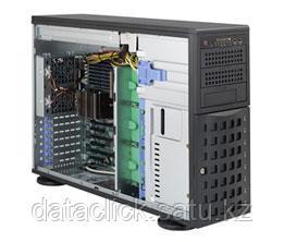 Сервер Tower 4U, 2xXeon E5-2600 v3/v4, 8xDDR4 LRDIMM 2400, 8x3.5HDD, RAID 0,1,10,5, 2xGLAN, 2x800W