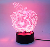 3D светильник, яблоко