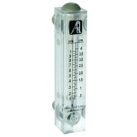 Ротаметр панельного типа модели FM-5 (1-5GPM), фото 2