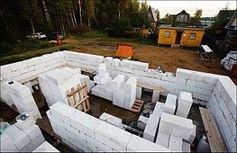 Возведение стен дома