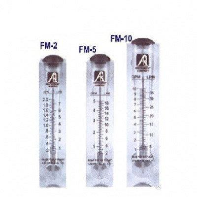 Ротаметр панельного типа модели FM-10 (1-10GPM), фото 2