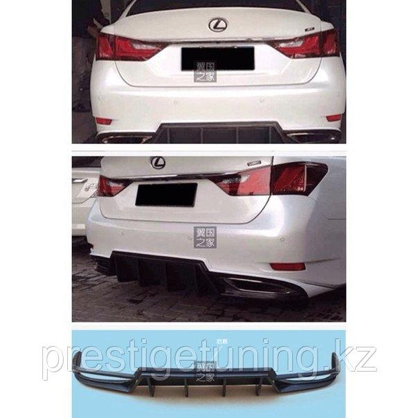 Диффузор на Lexus GS 2012-14