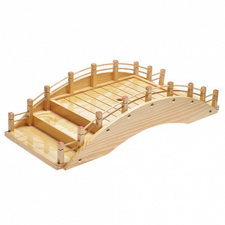 Блюдо мостик дерево 60х25х15 см арт.LL-MQ-60